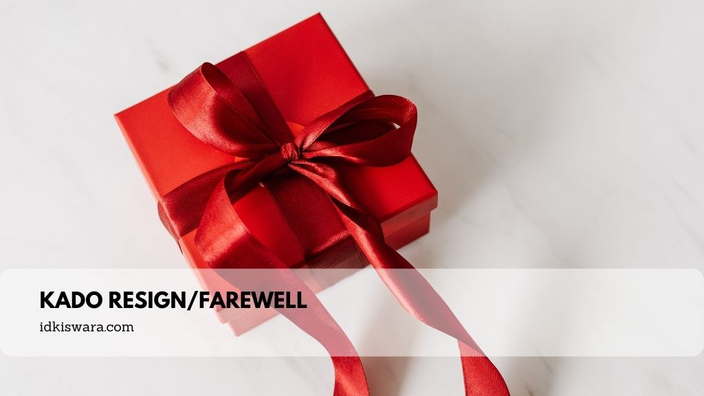 kado resign/farewell